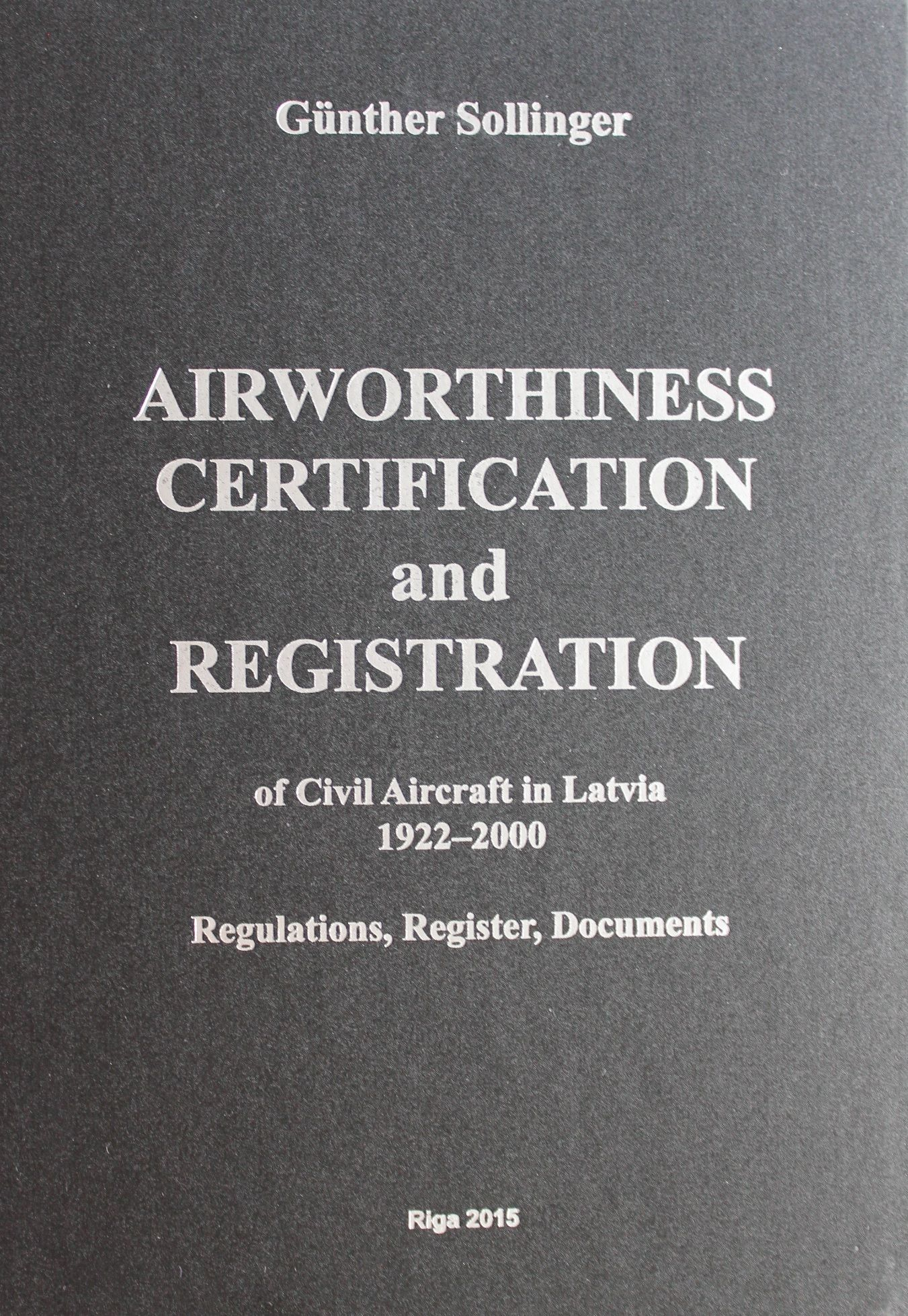 Airworthines Certification and Regristration