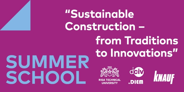 Summer School «Sustainable Construction – From Traditions To Innovations»
