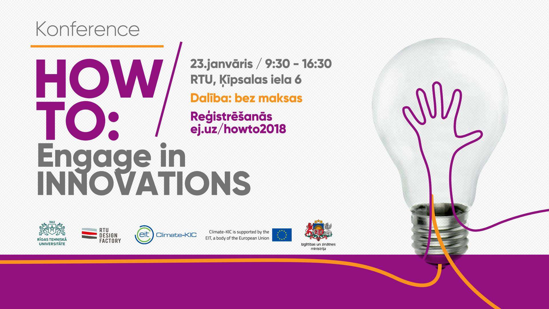 RTU invites all interested parties to become acquainted with innovation support and development processes