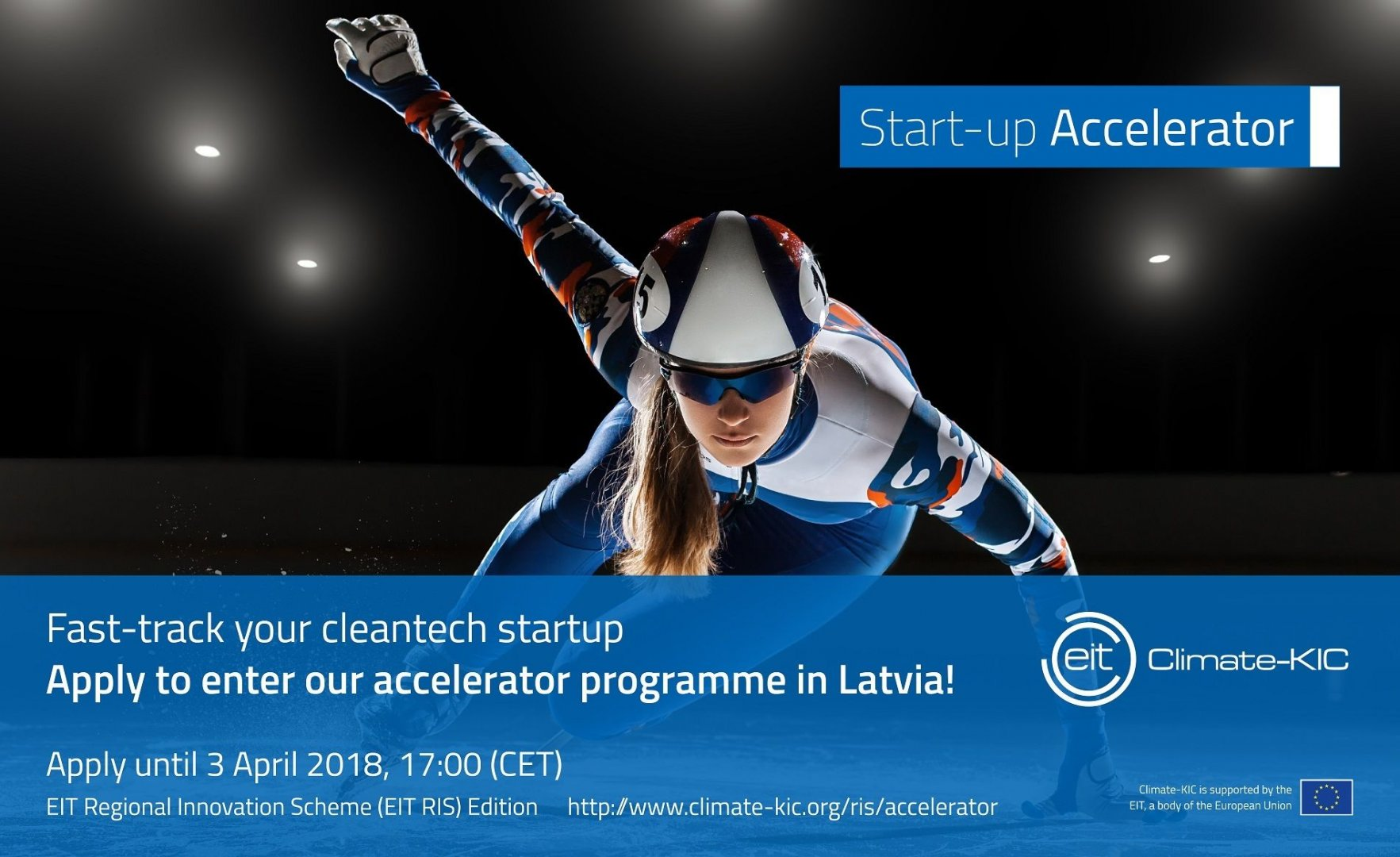 «Climate-KIC Accelerator Latvia» Opens a New Programme and Calls for Green Tech Start-Ups