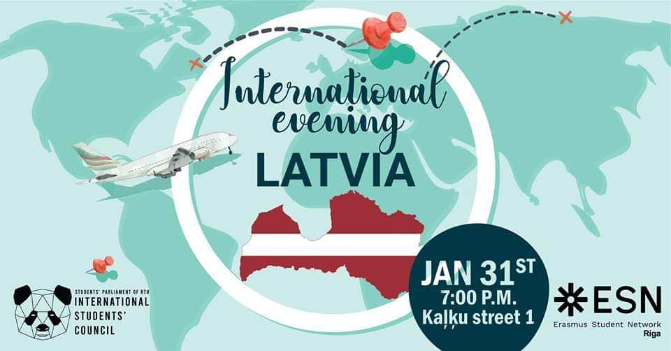 ESN Riga & RTU SP ISC Latvian Evening