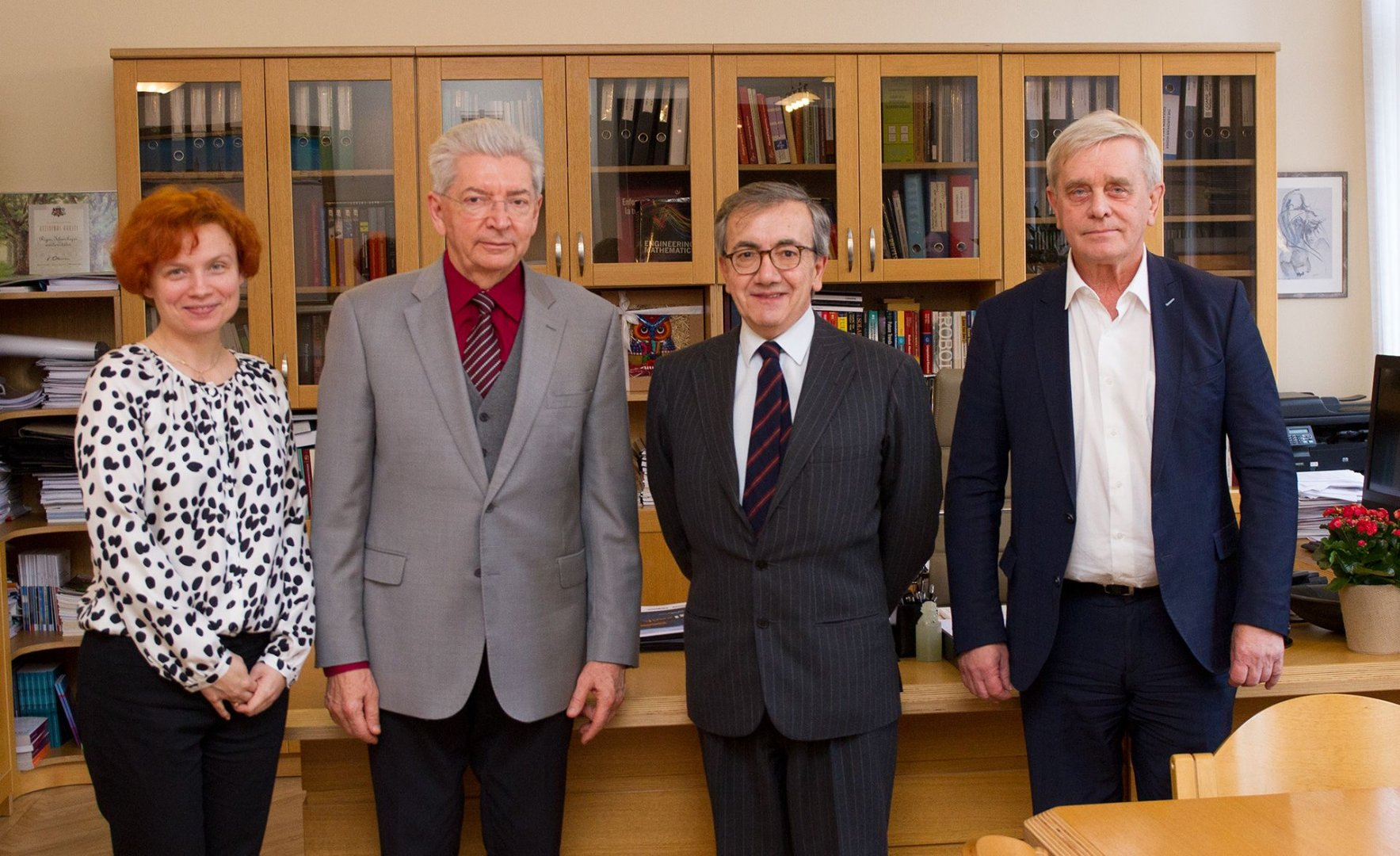RTU Rector and the Ambassador of Italy in Latvia Discuss Opportunities for Future Cooperation