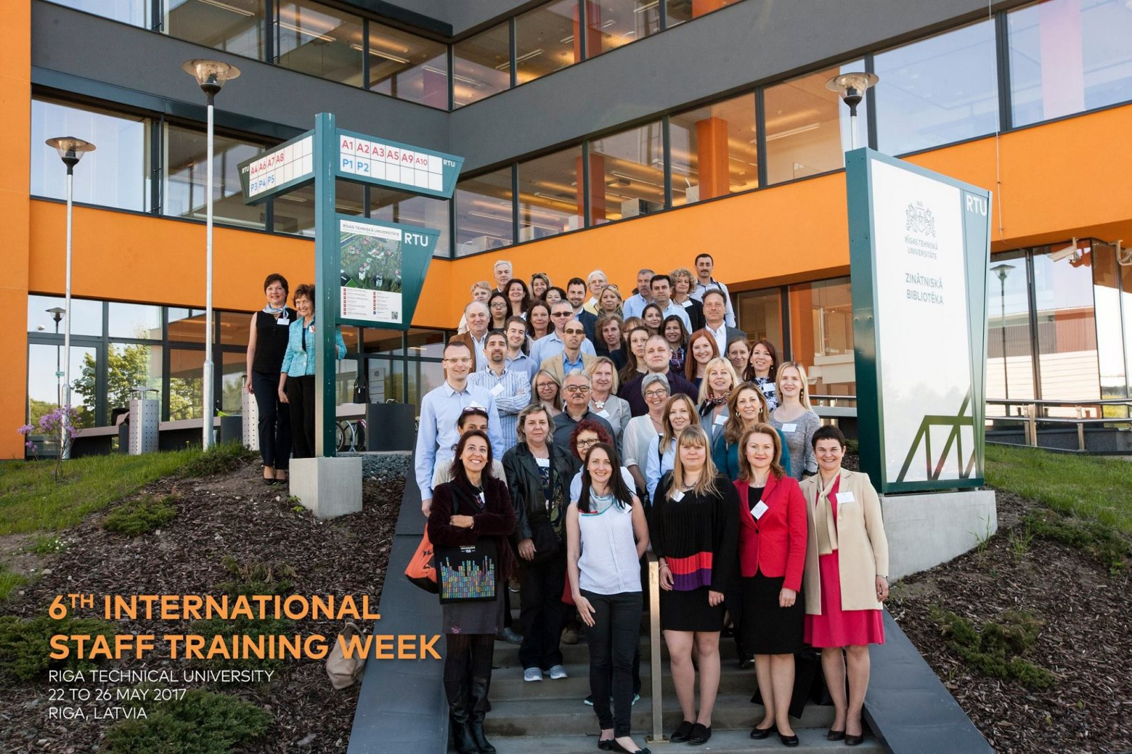 RTU International Staff Training Week 2018