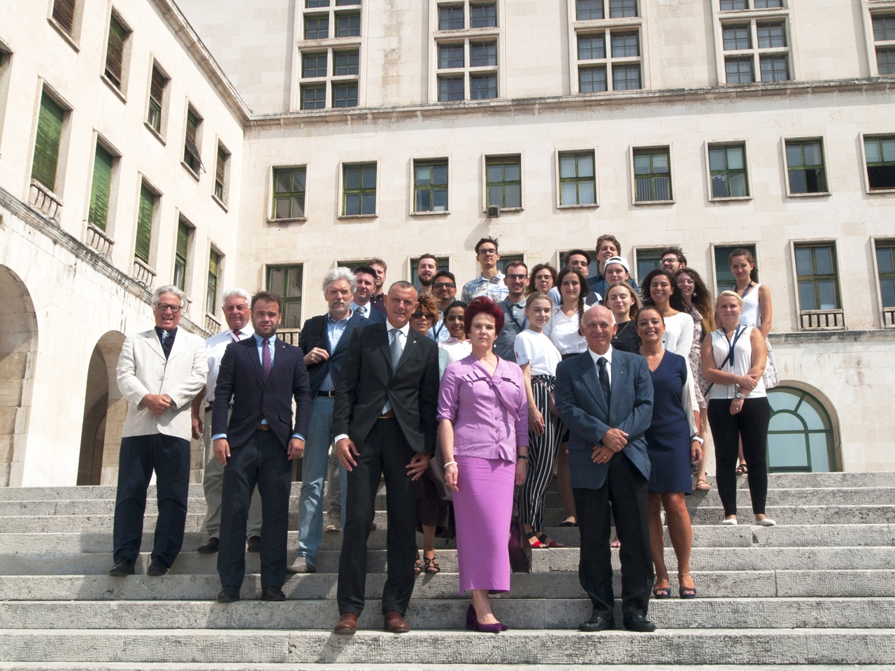 Latvian Ambassador to Italy Attends the Closing of Summer School «Nonlinear Life. Edition 3» Organized by RTU and University of Trieste