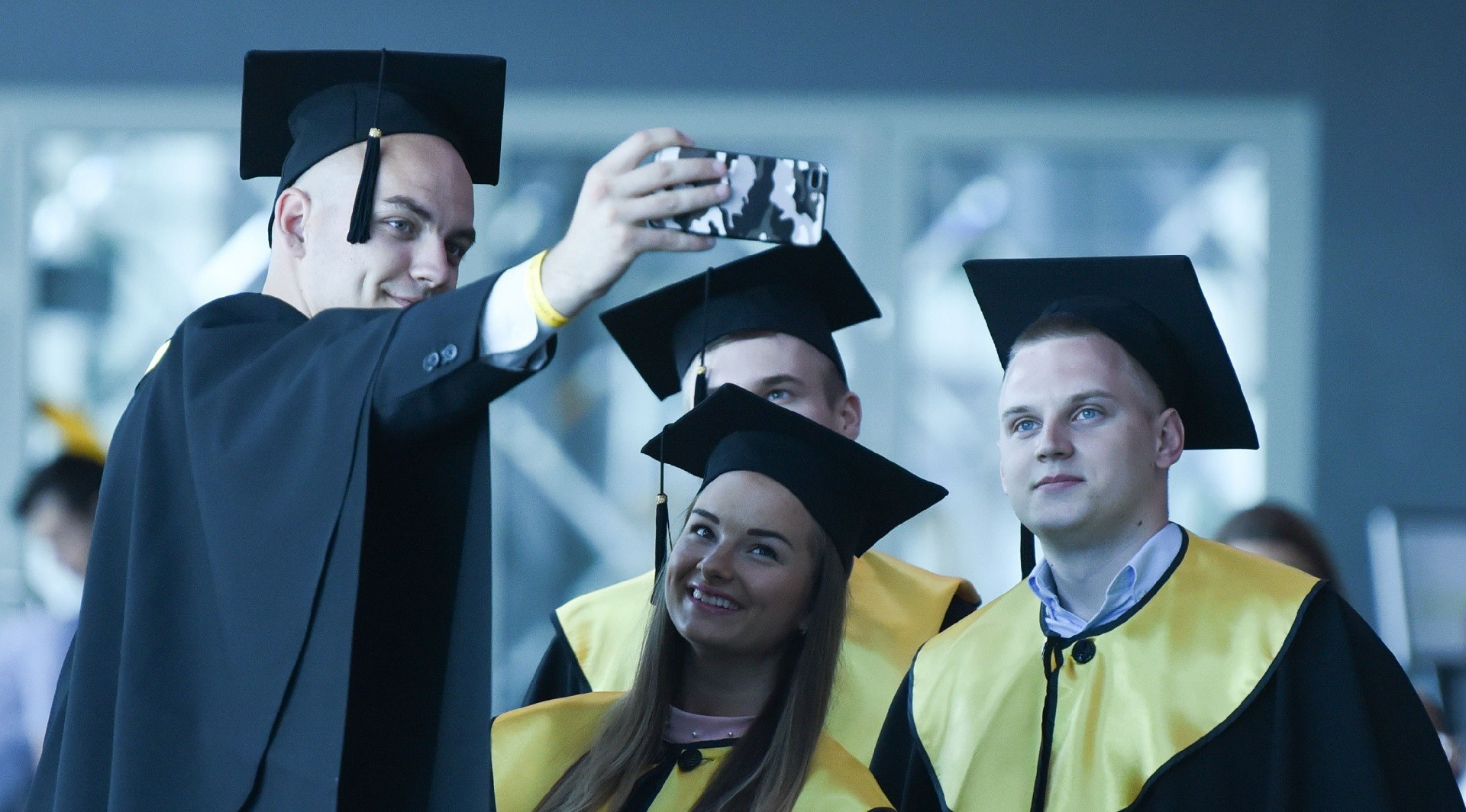 RTU Graduates celebrate the graduation of the university in the Grand Graduation