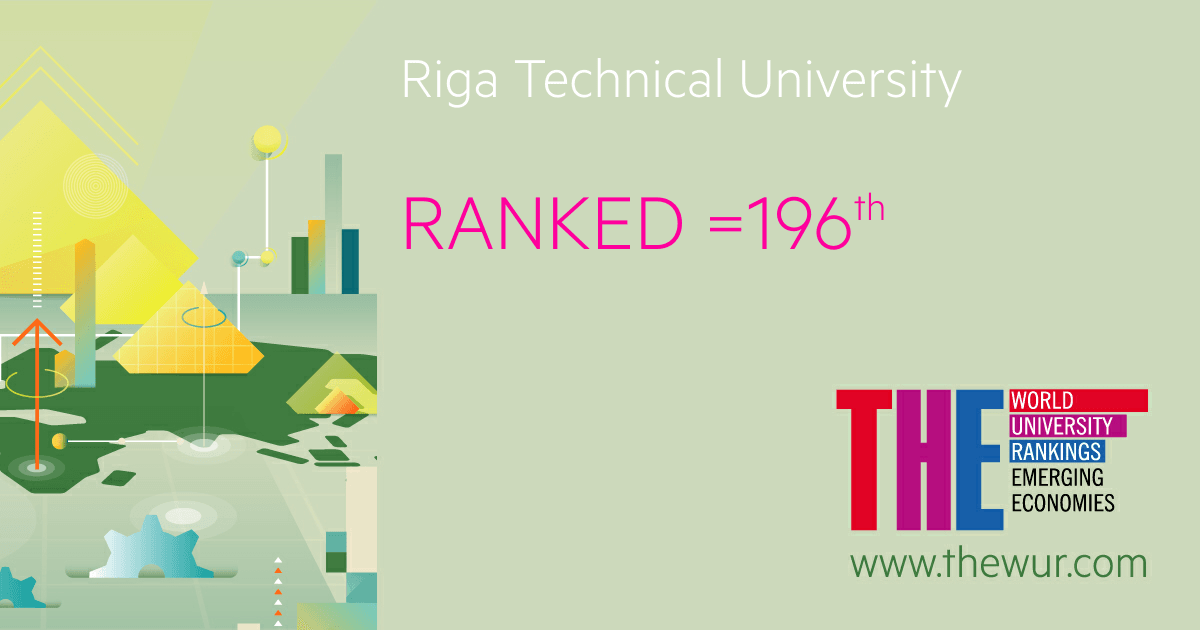 RTU is rapidly climbing to the TOP 200 of the best universities in the emerging economies
