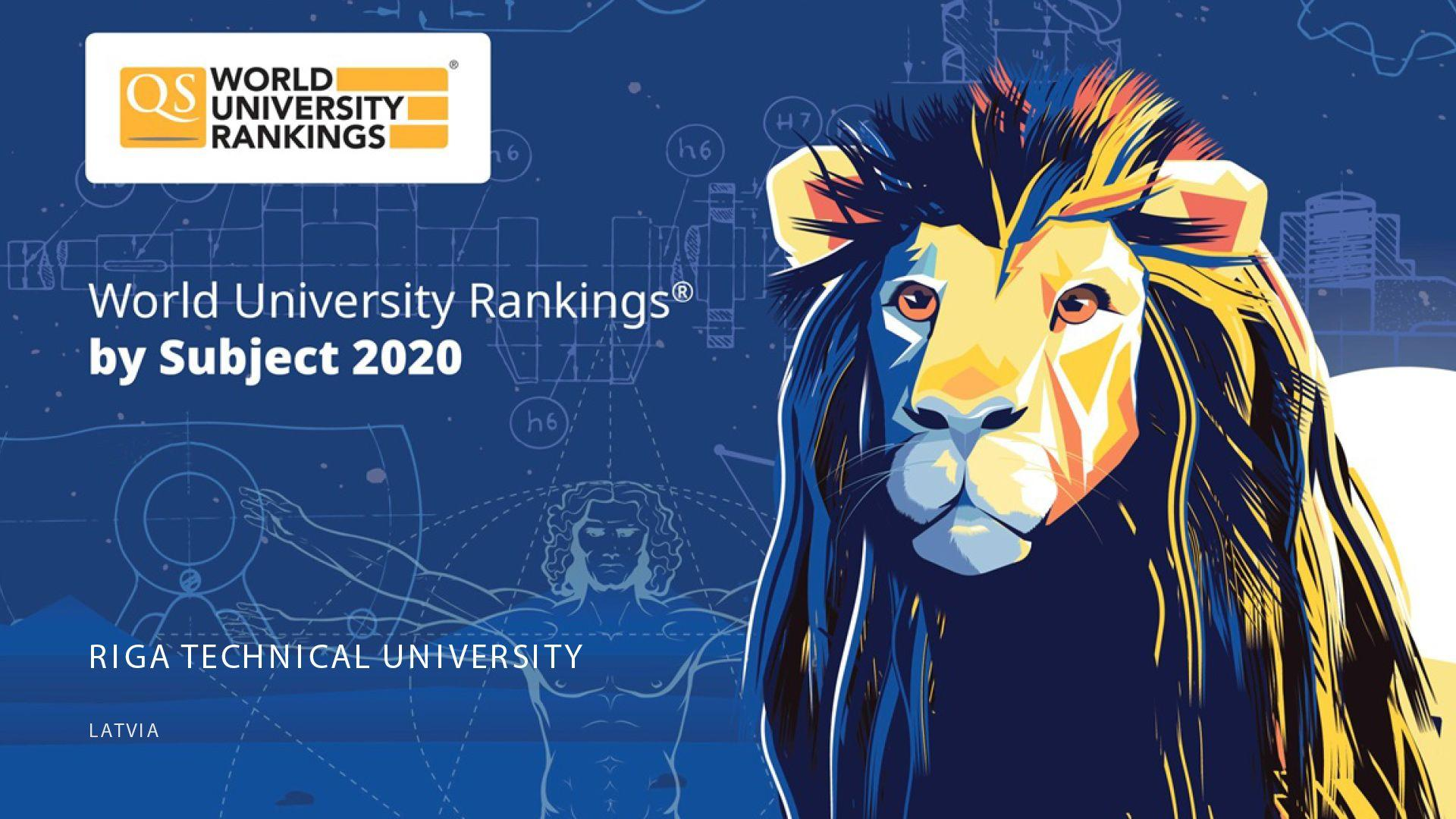 RTU Has Entered the TOP 500 QS Ranking in Engineering Sciences and Technologies