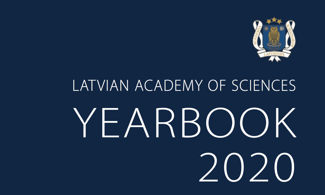 RTU and CERN Collaboration in the Latvian Academy of Sciences YearBook 2020