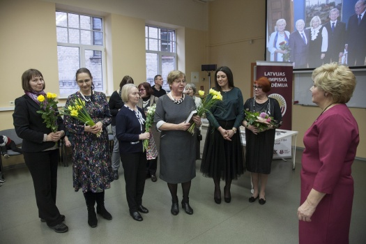 Opening of the book «The First Three Polish Olympians of Latvia (1924–1928)» 05.03.2020. compiled by Professor A. Zigmunde