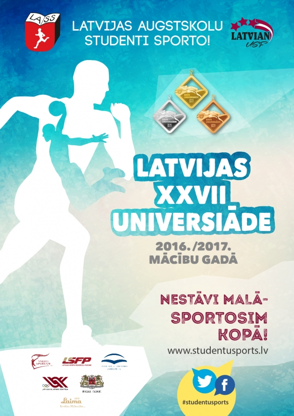 For the third consecutive year RTU triumphs at the XXVII Latvian Universiade