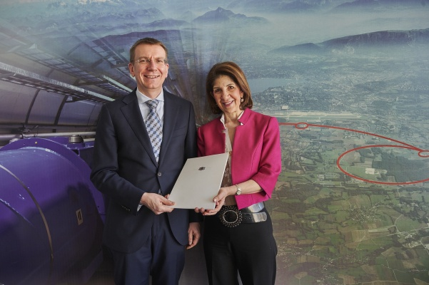 Latvia's Accession to CERN