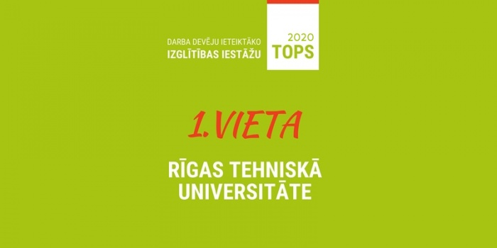 RTU is the university most highly recommended by Latvian employers