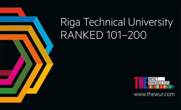 RTU Ranked as the Best Higher Education Institution in Latvia in the Times Higher Education Impact Rankings 2020