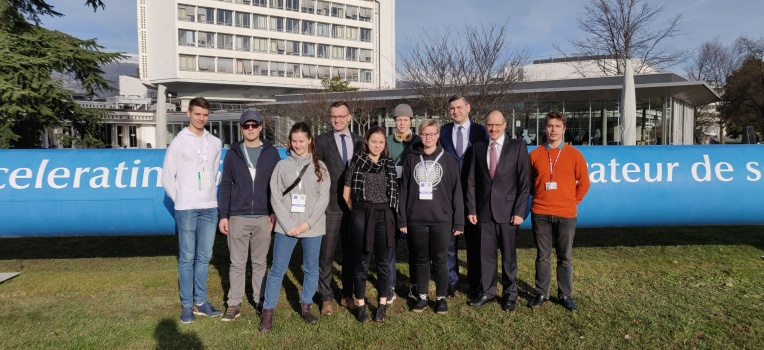 Six Pupils Will Shadow RTU Scientists in the European Centre for Nuclear Research in Switzerland
