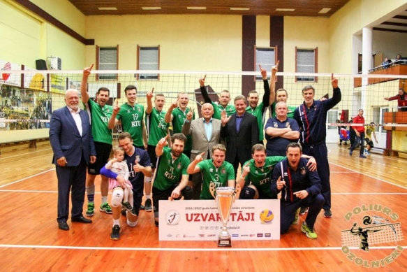 "Team ""RTU/Robežsardze"" wins the Latvian Men's Volleyball Championship"