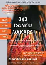Come and join us for a night of Latvian Folk Dance!