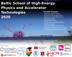 School «Baltic School of High-Energy Physics and Accelerator Technologies 2020»