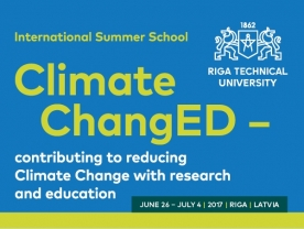 International Summer School «Climate ChangED - contributing to reducing Climate Change with research and education»