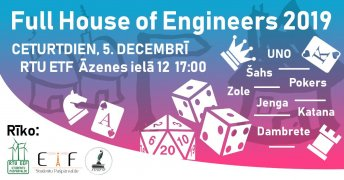 Full House of Engineers 2019