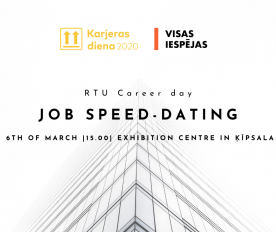 Visas Iespējas & RTU Career Day «Job speed dating»