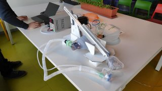 48 hr automated lung fan prototype has been created helping in the struggle with Covid-19