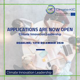 EIT Climate-KIC Climate Innovation Leadership Programme