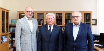 Rectors of technical universities of the Baltic States agree on a strategic partnership at RTU