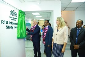 RTU Information and Study Centres Have Been Opened in India and Sri Lanka